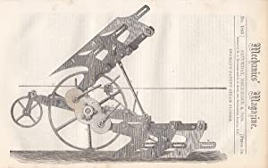 Seaman's Patent Steam Plough; Railway Graients And