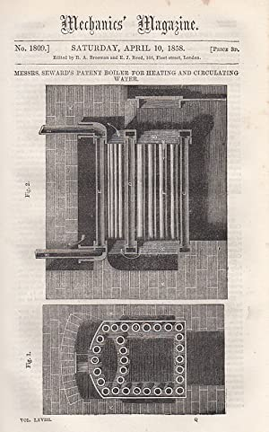 Messrs. Seward's Patent Boiler For Heating And