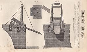 Martin's Patent Machinery For Shipping Minerals In Tidal Situations; Header's Patent ...