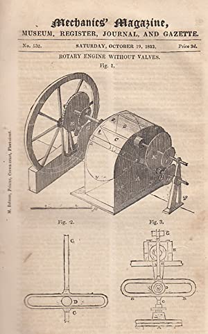 Rotary Engine Without Valves; Substitute For The