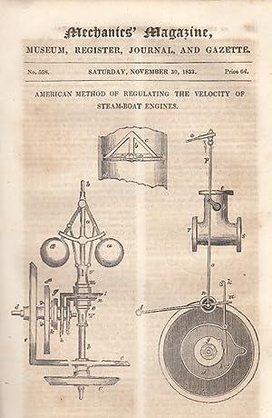 American Method Of Regulating The Velocity Of