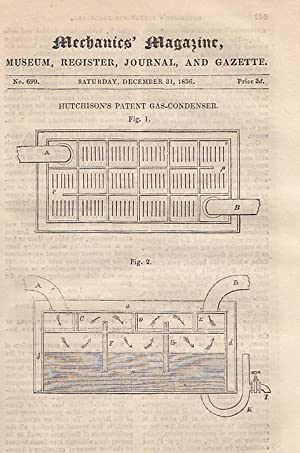 Hutchinson's Patent Gas-Condenser; Further Remarks On The