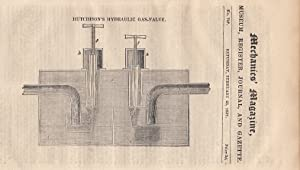Hutchinson's Hydraulic Gas-Valve; Medallic Engraving - Mr.