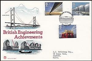 British Engineering Achievements. The Humber Bridge and