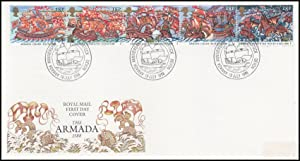The Armada, 1588. Royal Mail Special Commemorative