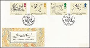 Edward Lear. Verse for Children. Royal Mail
