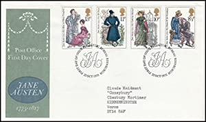 Jane Austin, 1775-1817. Royal Mail Special Commemorative