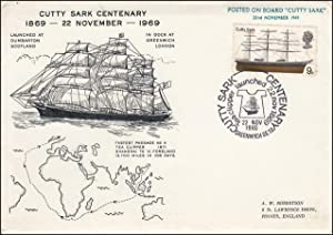 Cutty Sark Centenary. Royal Mail Special Commemorative
