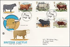 British Cattle. Royal Mail Special Commemorative Issue