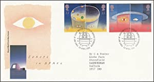 Europe in Space. Royal Mail Special Commemorative