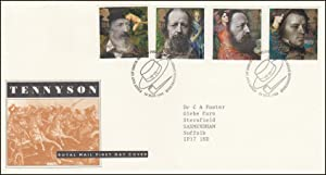 Tennyson. Royal Mail Special Commemorative Issue Cover.