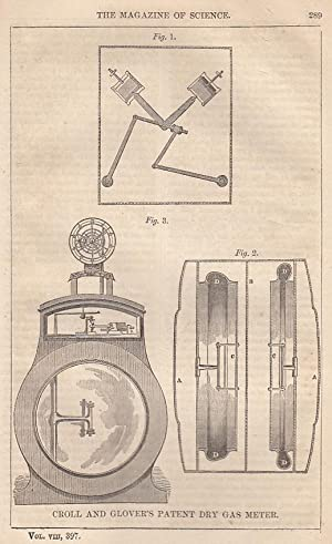 Croll And Glover's Patent Dry Gas Meter;