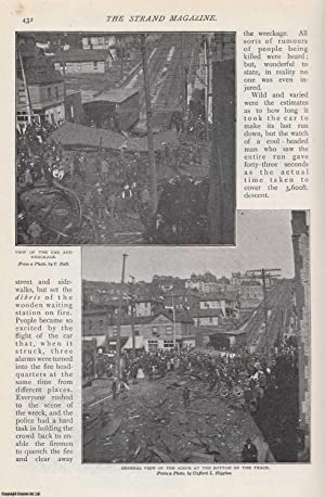A Runaway Car: Duluth, Minnesota. Some Wonders From The West. A rare original article from The ...