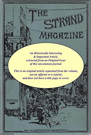 Blood Money. A rare original article from The Strand Magazine, 1915.: Philips, Austin