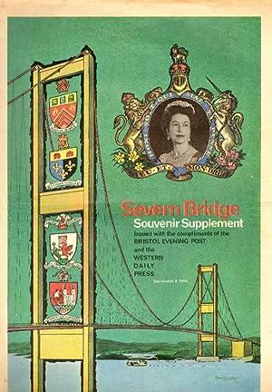 Severn Bridge Souvenir Supplement. September 8th, 1966.