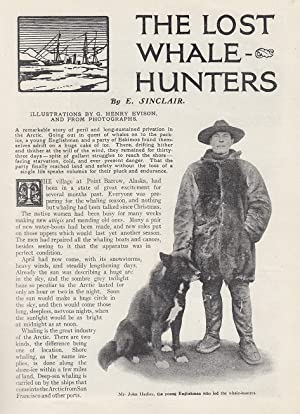 The Lost Whale-Hunters. An original article from the Wide World Magazine 1914.: Sinclair, E.