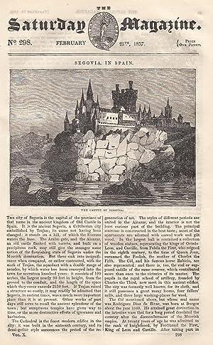 Segovia, in Spain; A Short History of