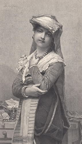 The Young Bride, an Engraving of an: Engraving