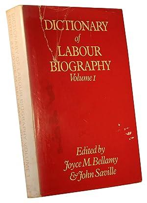 Dictionary of Labour Biography. Volume 1.: Joyce M. Bellamy