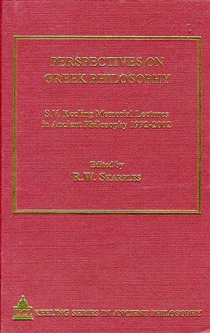 Perspectives on Greek Philosophy : S. V.: Sharples, R. W.