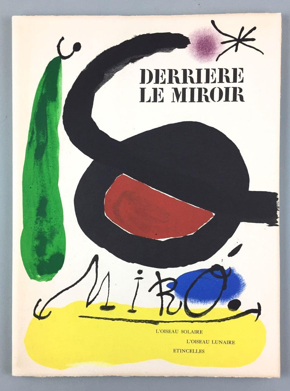 Miro joan limited and signed derriere le miroir l for Maeght derriere le miroir