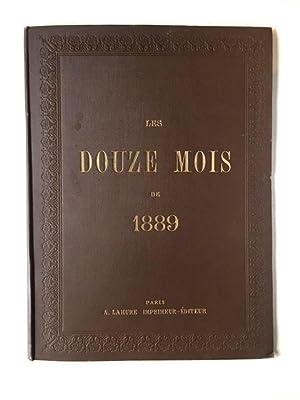 Les Douze Mois de 1889: Grasset, Eugene