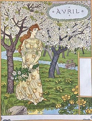 Grasset, Eugene Les Mois: Douze Compositions gravées: Grasset, Eugene