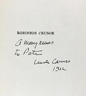 Wyeth, N. C.- Presentation Copy] Robinson Crusoe: Defoe, Daniel
