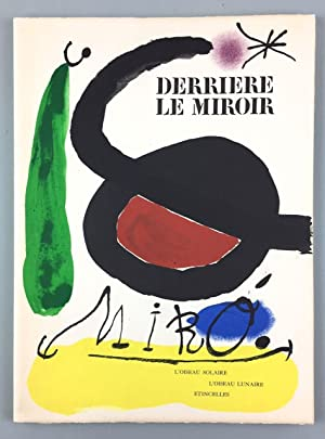 Miro, Joan- LImited and Signed] Derriere Le: Miro, Joan and