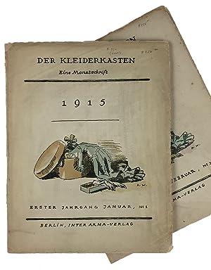Low, Fritzi] Der Kleiderkasten, Nos. 1 &: Low, Fritzi