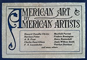 American Art by American Artists. One Hundred Masterpieces representing the best work in pen-and-...