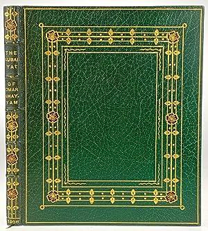 Roycroft Press- Kinder, Stunning Full Levant Inlaid: Fitzgerald, Edward (transl.)