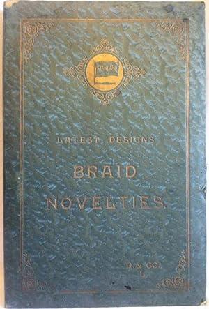 Sample Book: Silk Braids] Latest Designs Braid