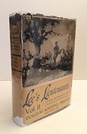 Lee's Lieutenants Vol. II Cedar Mountain to: Freeman, Douglas Southall