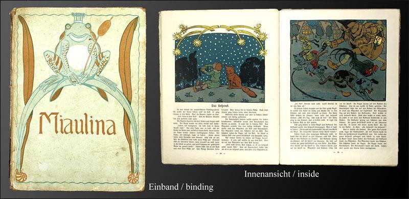 Miaulina. Ein Märchenbuch für kleine Kinder.: Dannheisser, Ernst: