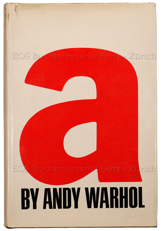 A novel by Andy Warhol.: Warhol, Andy:
