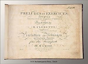 Preludes et exercices doigté dans tous les: Clementi, Muzio: