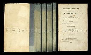 Philosophiae naturalis principia mathematica.: Newton, Isaac: