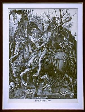 Ritter, Tod u. Teufel.: Dürer, Albrecht (1471-1528):