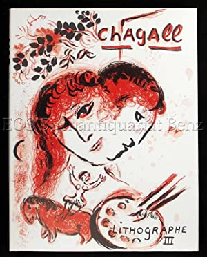 Lithographe III. 1962-1968.: Chagall, Marc: