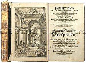 Perspectivae pictorum atque architectorum, II. pars .: Pozzo, Andrea: