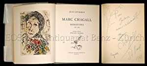 Marc Chagall. Monotypes 1961-1965. Catalogue établi par: Chagall. - Leymarie,