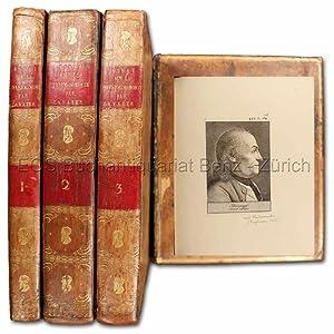 Essai sur la physiognomie, destiné A faire: Lavater, Johann Kaspar: