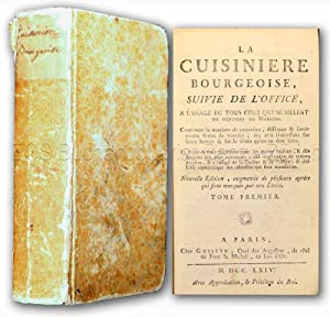 La cuisiniere bourgeoise, suivie de l'office, A