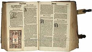 Die gantze Bibel der ursprünglichen Ebraischen und: Biblia Germanica.