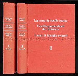 Les noms de famille suisse / Familiennamenbuch