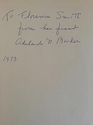 To mark the time,: Baker, Adelaide N