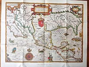 Map Reproduction] The New World - 1600: Gabriel Tatton; Benjamin
