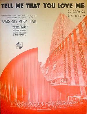 Sheet Music : Piano, Vocal Guitar/Ukulele/Banjo chords]: Al Silverman (Words