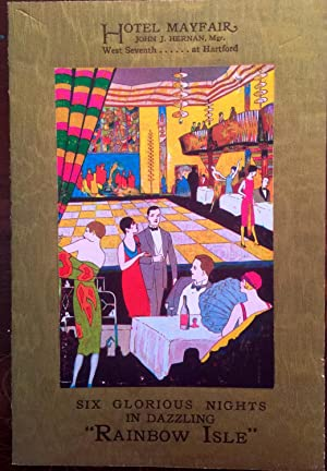 Vintage Hotel Event Brochure - 1920's] Hotel Mayfair John J. Hernan Mgr. West Seventh at ...